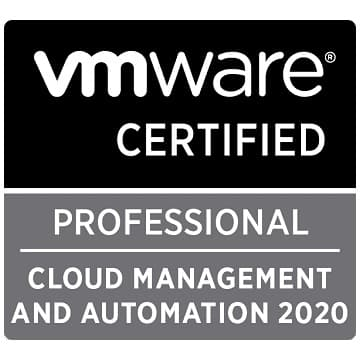 VCP-CMA 2020 Exam Questions